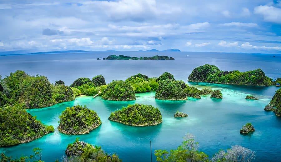 Dos pequeñas islas de Indonesia desaparecieron por el aumento del nivel del mar
