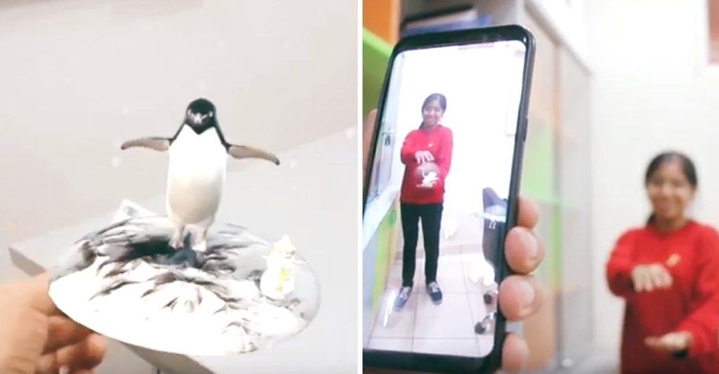 Perú: Ingeniera de la UNSA crea enciclopedia de realidad aumentada para enseñar zoología a niños
