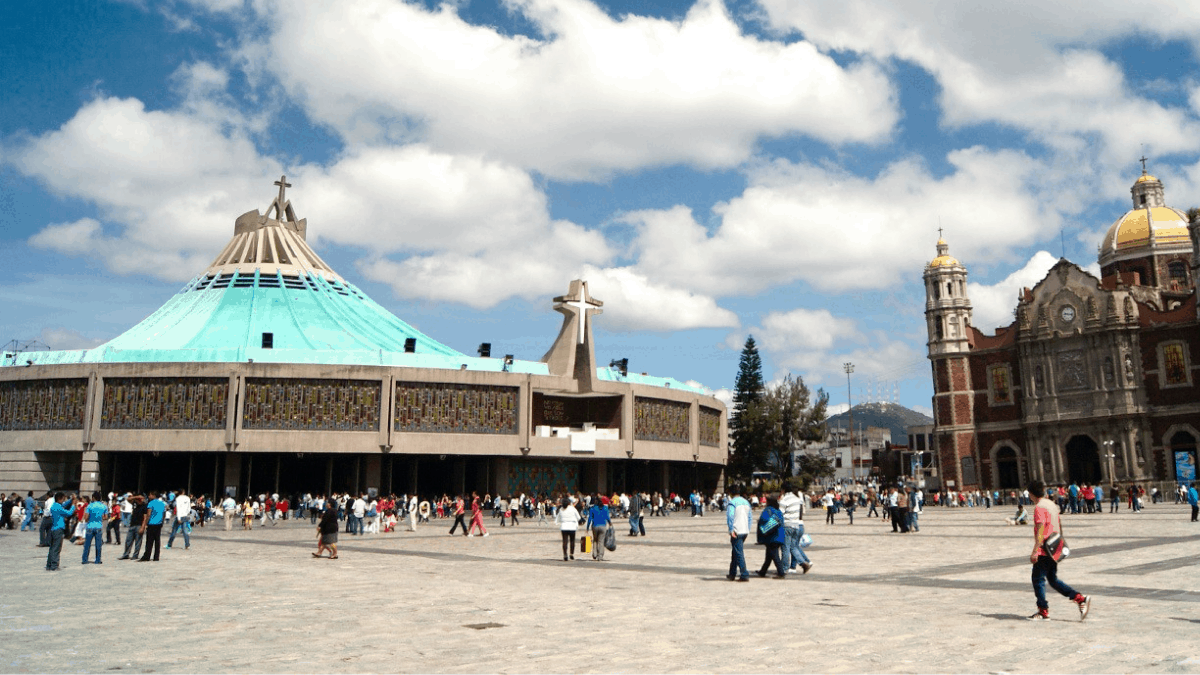 Basílica de Santa María de Guadalupe.  Foto:  http://cdmxtravel.com/