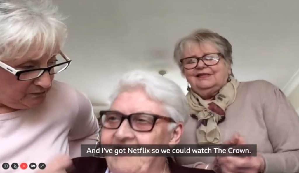 Tres abuelitas se mudaron juntas porque no quieren que su aislamiento sea aburrido