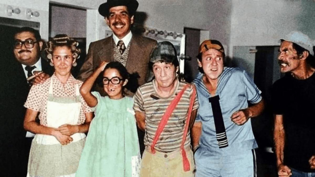 Parte del elenco de El Chavo del 8. (Foto: Televisa