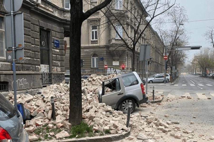 Un sismo de magnitud 5,3 afectó Croacia y dejó importantes daños materiales en Zagreb