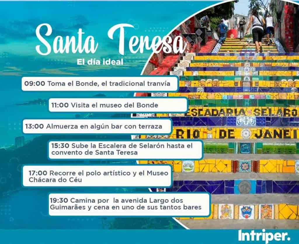 Barrios De Río De Janeiro: Santa Teresa