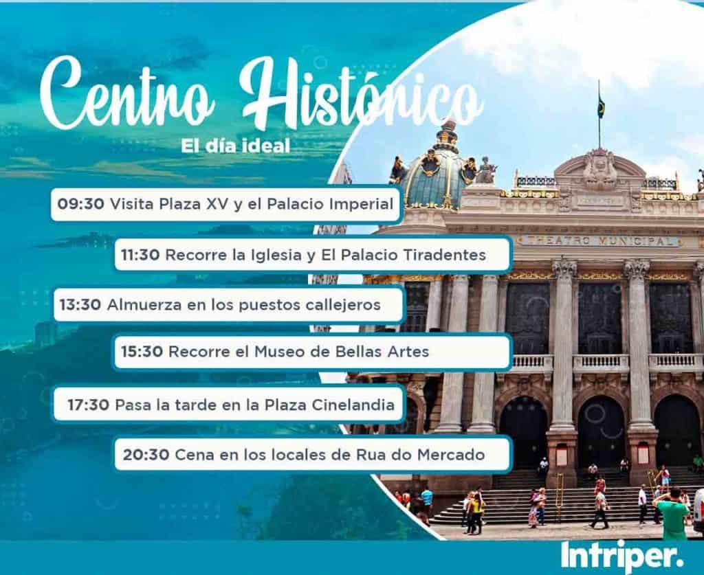 Barrios De Río De Janeiro: Centro Histórica