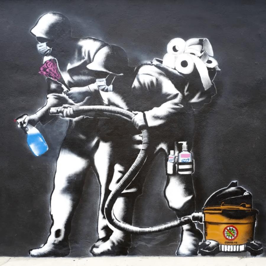 Imagen El Arte Callejero En Tiempos De Covid 19 Los Artistas Resisten Con Dibujos Y Graffitis Alusivos E Ir%C3%B3Nicos A La Pandemia 7