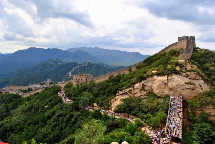imagen requisitos para entrar a Gran Muralla China reabre sus puertas luego de dos meses de cierre para frenar la propagaci%C3%B3n del coronavirus