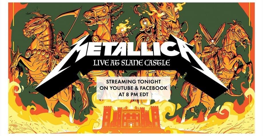 Metallica – MetallicaMondays – Live at Slane Castle