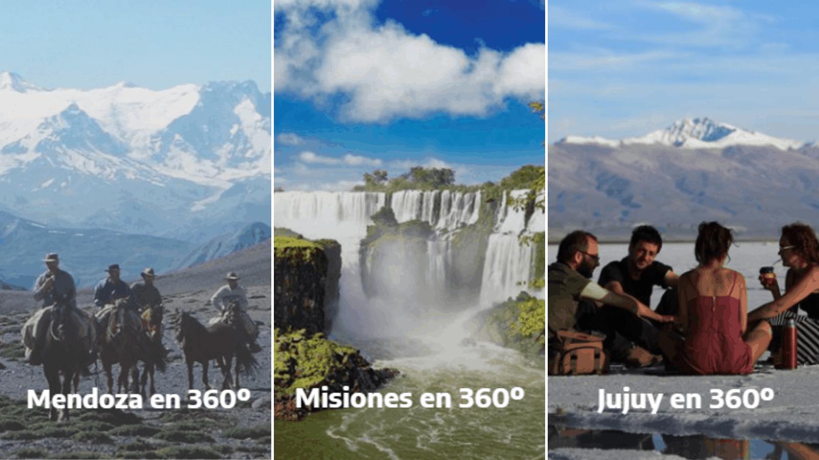 Argentina en 360°: recorridos virtuales por los grandes atractivos ...