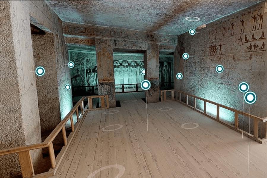imagen Egipto abre sus tumbas para que viajeros curiosos puedan conocerlas a trav%C3%A9s de recorridos virtuales 6 1