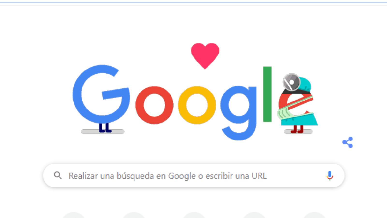 Google dedica una serie de doodles a los trabajadores de la salud que están en la primera línea de combate contra el brote de COVID-19 1