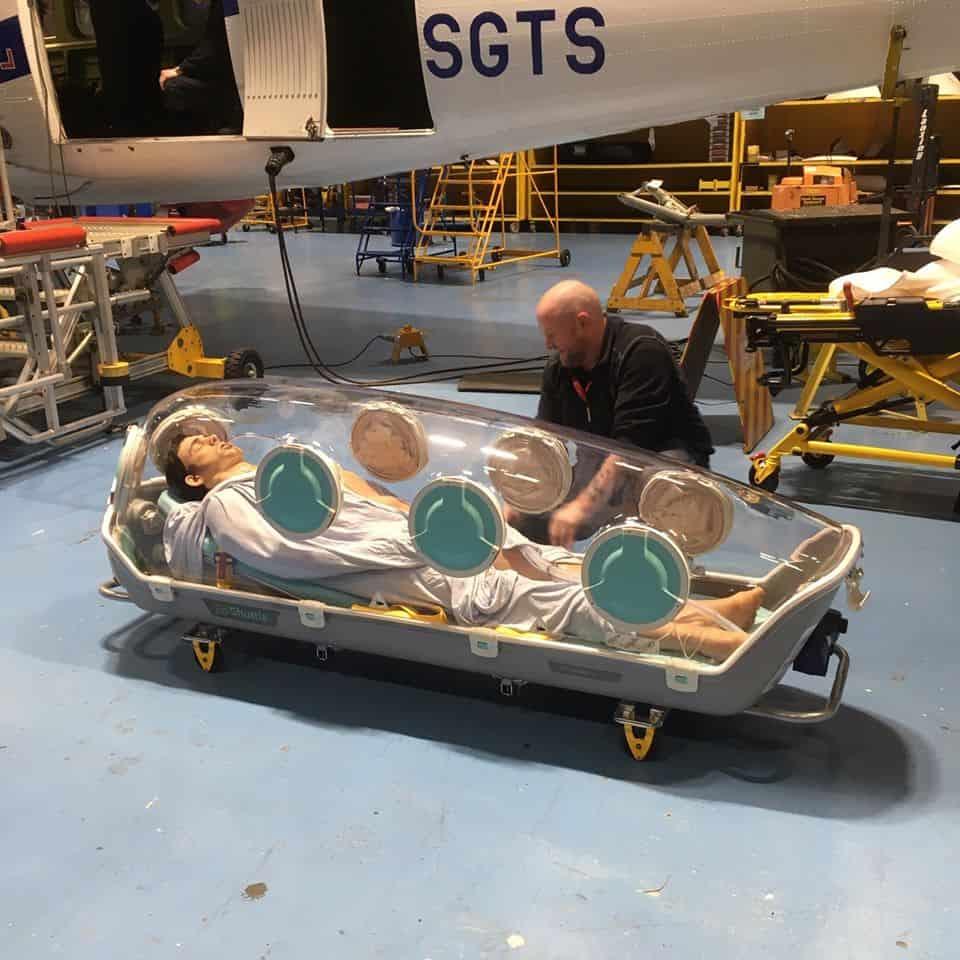 imagen La aerol%C3%ADnea escocesa Loganair convertir%C3%A1 algunos de sus aviones en ambulancias especiales para luchar contra el brote de COVID 19 3 1