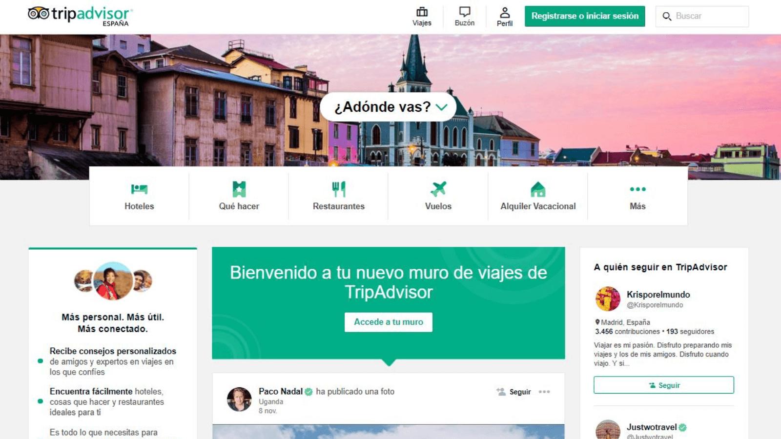 TripAdvisor donará un dólar por cada reseña que se publique para ayudar a los sectores turísticos más afectados por el coronavirus 2