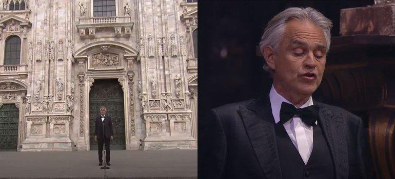 Andrea Bocelli anunció que tuvo coronavirus y donará su plasma para la investigación