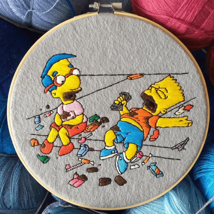 Mejores Escenas De Los Simpsons