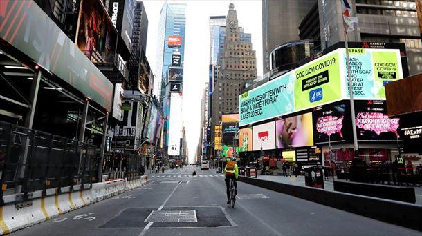 Nueva York no registró fallecidos por COVID-19