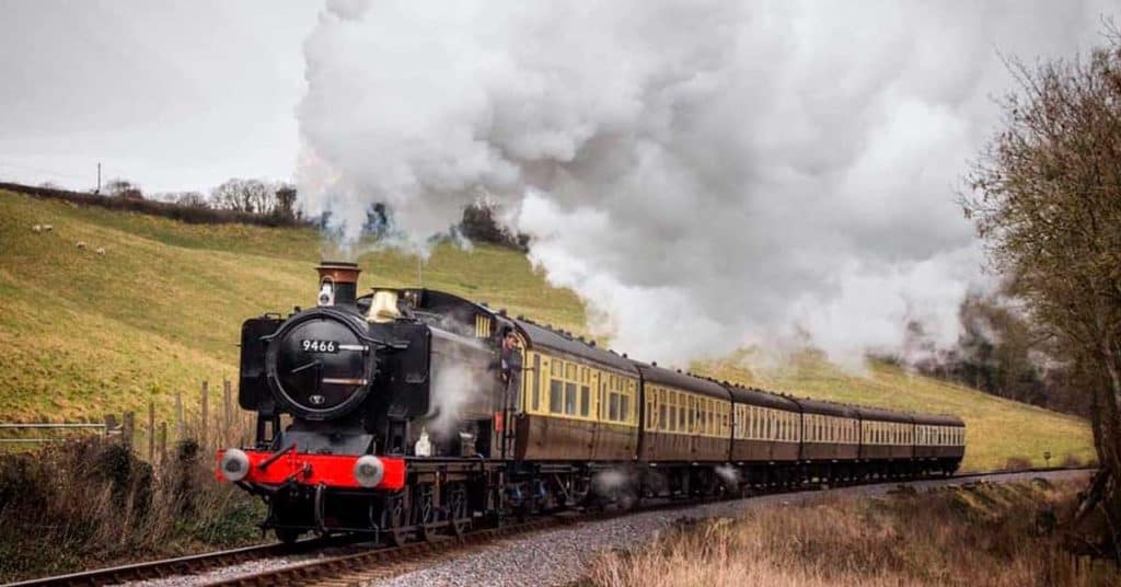 rutas en tren de reino unido