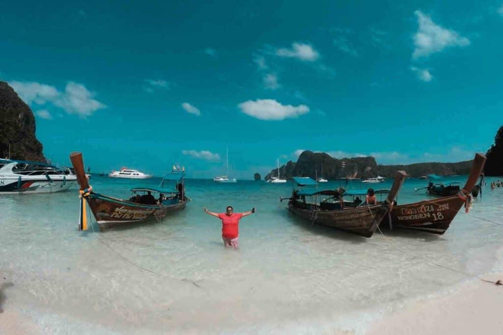 Las dos islas más visitadas de Tailandia: Phi Phi island y Maya Bay