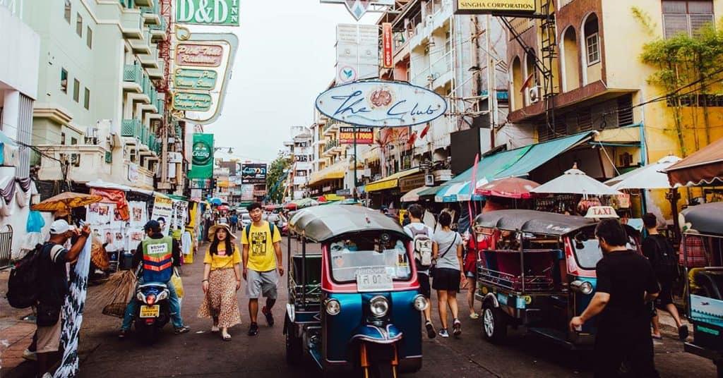 actividades gratis en Bangkok bangkok tuktuk