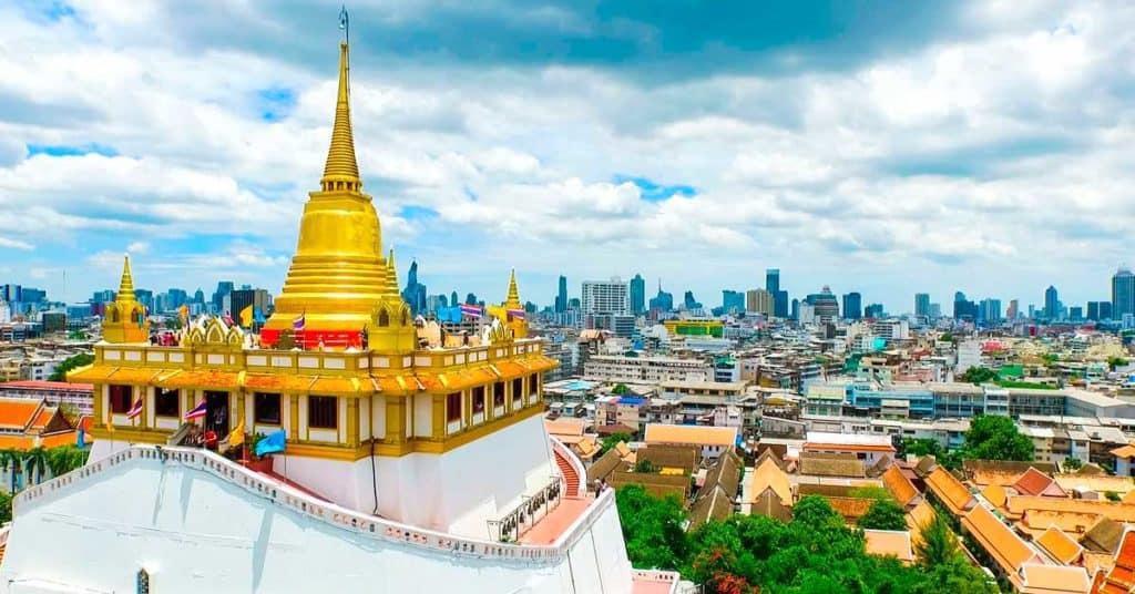 actividades gratis en Bangkok bangkok Wat Saket