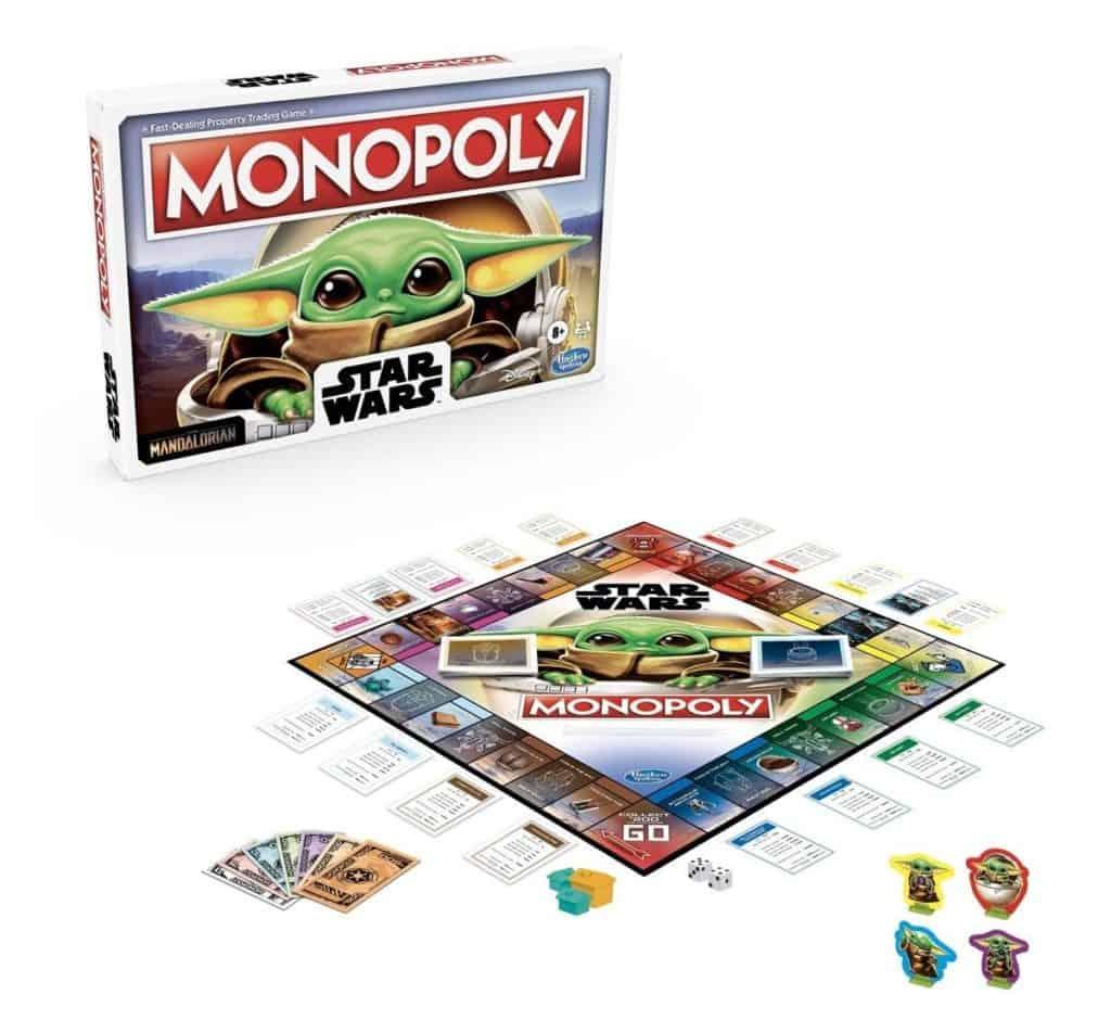 Imagen Baby Yoda Monopoly 1218389