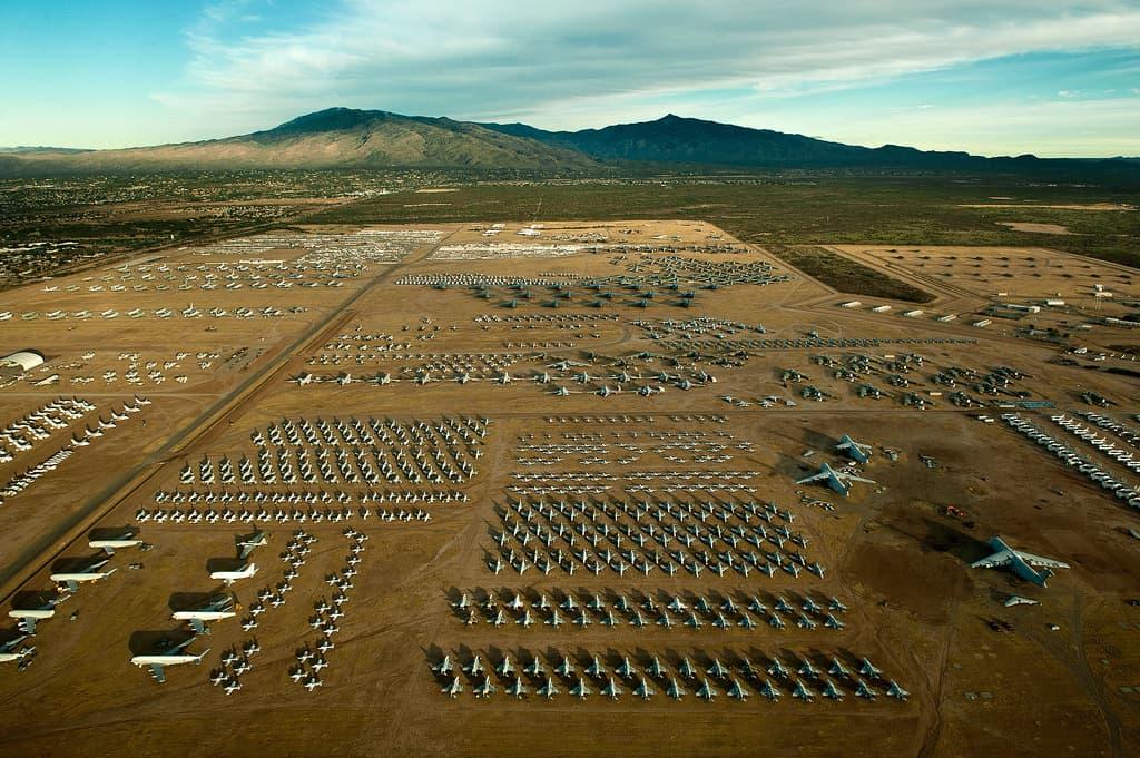 Descubre The Boneyard en Arizona el mayor cementerio de aviones del mundo que puedes visitar gracias a un tour 4 1
