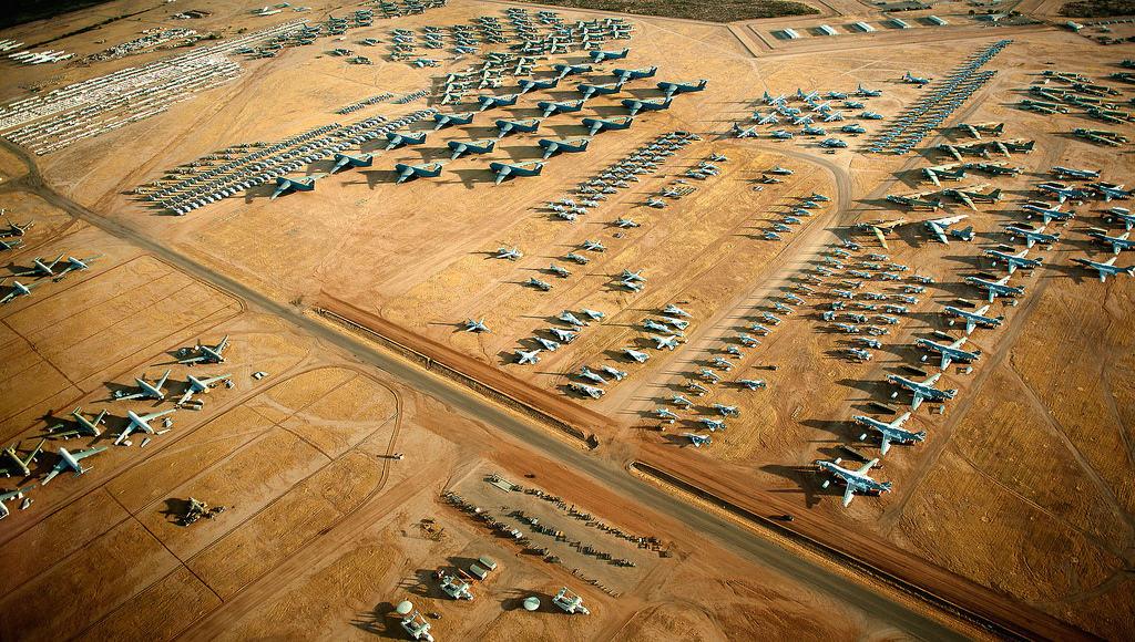 Descubre The Boneyard en Arizona el mayor cementerio de aviones del mundo que puedes visitar gracias a un tour 7 1