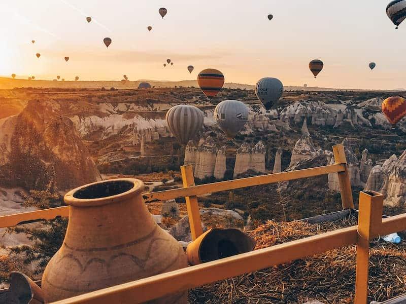 Volar En Globo Por Capadocia: Cómo Llegar A Capadocia