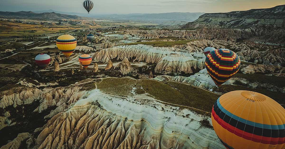 Volar en Globo por Capadocia, Turquía