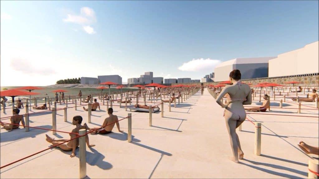 [Playa ejecutiva] En algunos destinos de España se deberá reservar con anticipación para poder ir a la playa