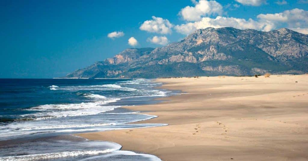 Patara Beach, Gelemiş
