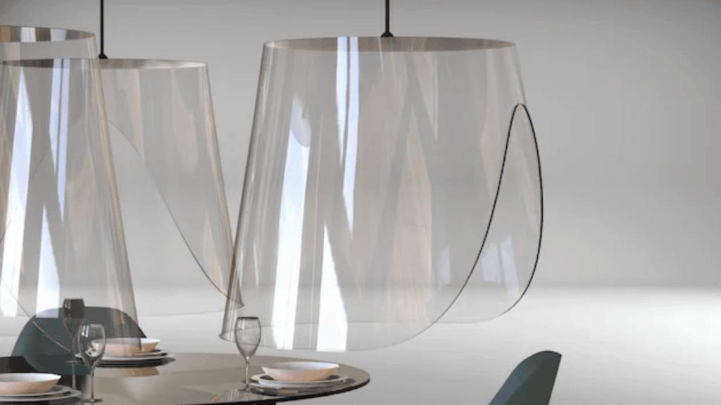 Diseñador francés propone campanas de plexiglás para que restaurantes garanticen el respeto por el distanciamiento social
