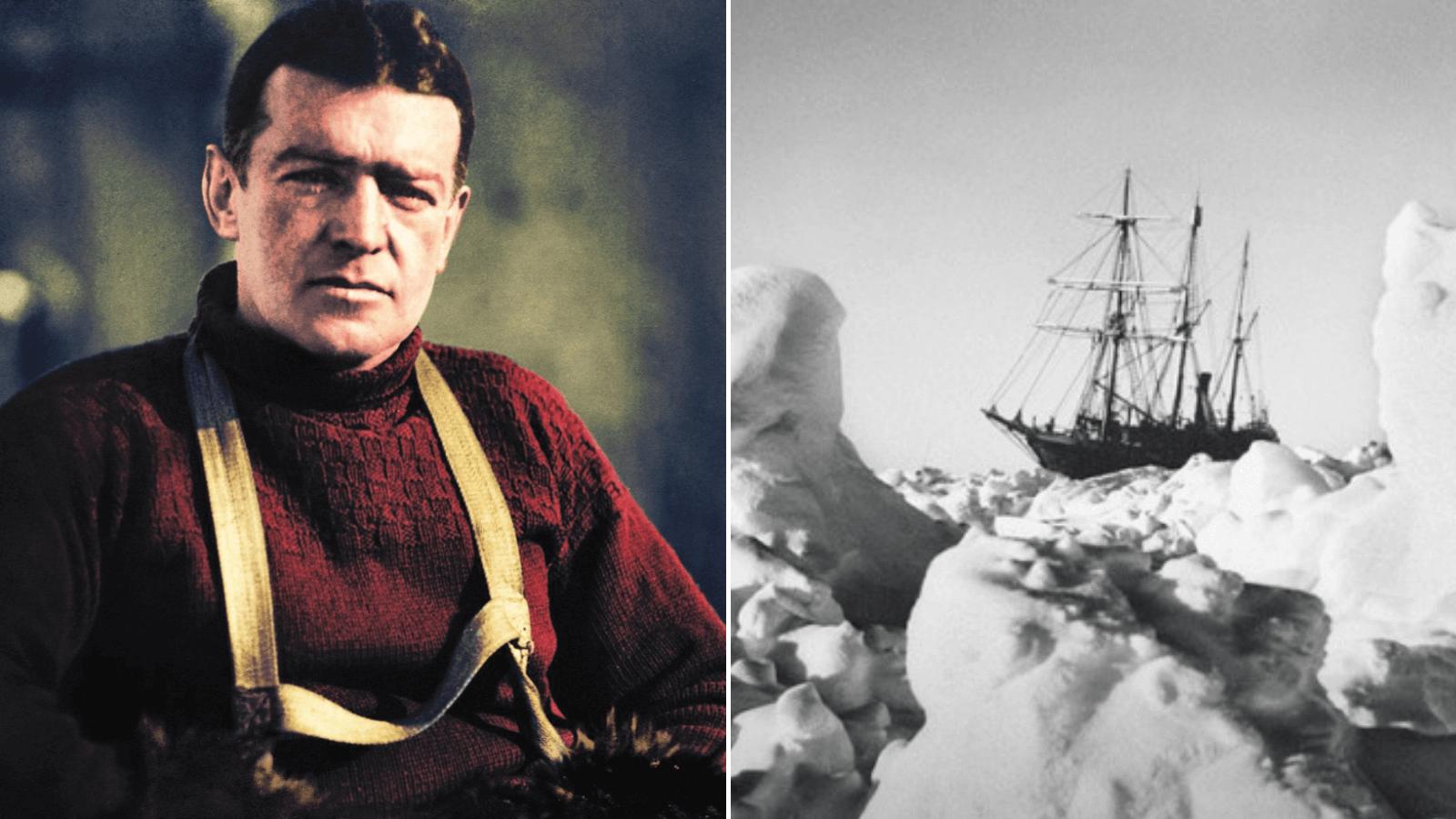 La hazaña del explorador Shackleton Sobrevivió 20 meses confinado en la Antártida luego de que su barco se hundiera en 1915 5