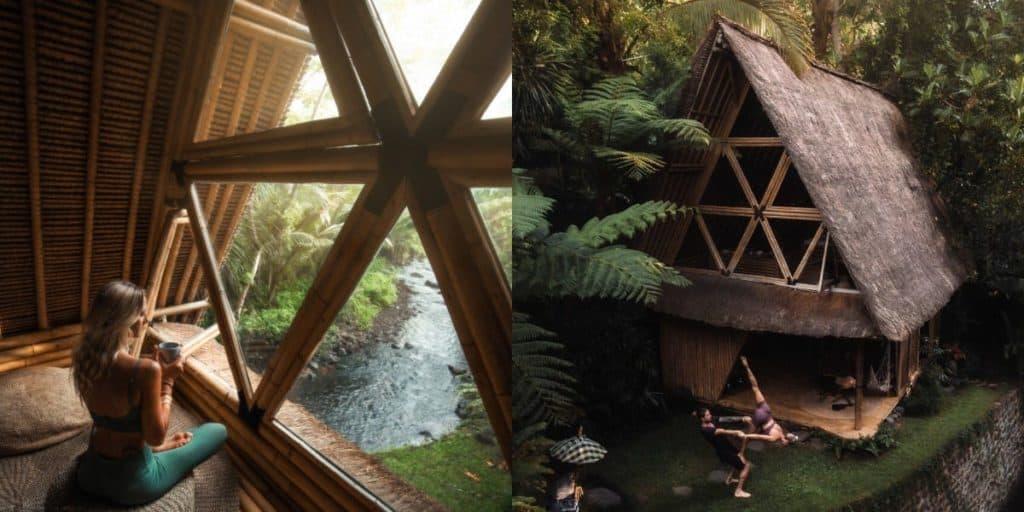 Un grupo de amigos se refugió en una de las villas más buscadas de Bali justo antes de que la isla cerrara el acceso a los turistas