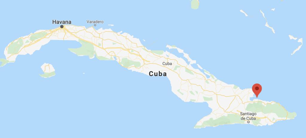 Mapa De Cayos De Cuba