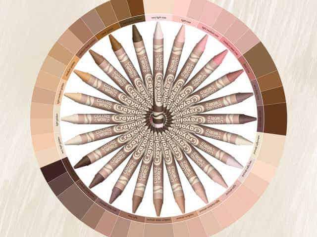 Crayola lanza un nuevo paquete de crayones con TODOS los colores de piel » Intriper.