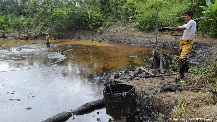 Líderes indígenas piden ayuda para proteger las nacientes del Amazonas de las firmas petroleras