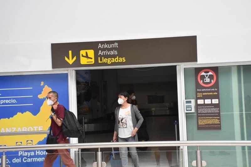 Aislados todos los pasajeros de un avión por un caso de Covid19