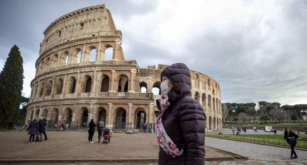 Reabre el Coliseo romano con barbijos, reservas y control de temperatura