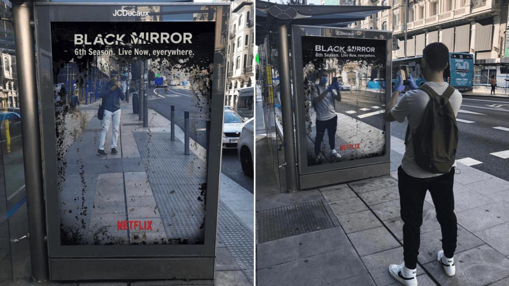 Black Mirror lo hizo: su nueva campaña simulando el estreno de una nueva temporada es furor en redes sociales