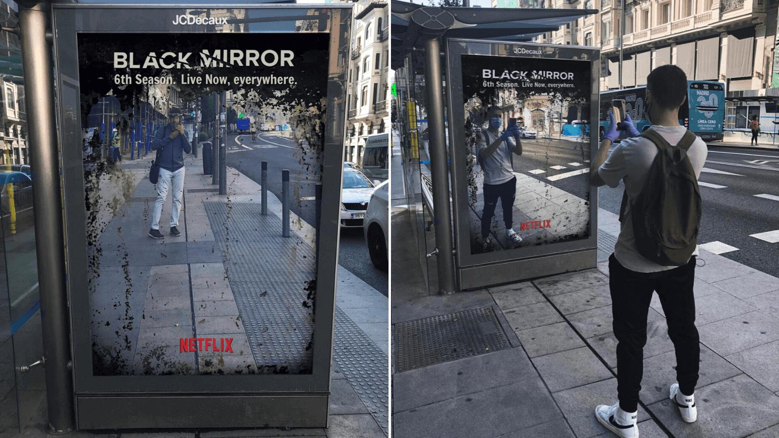 Black Mirror lo hizo su nueva campaña simulando el estreno de una nueva temporada es furor en redes sociales 1