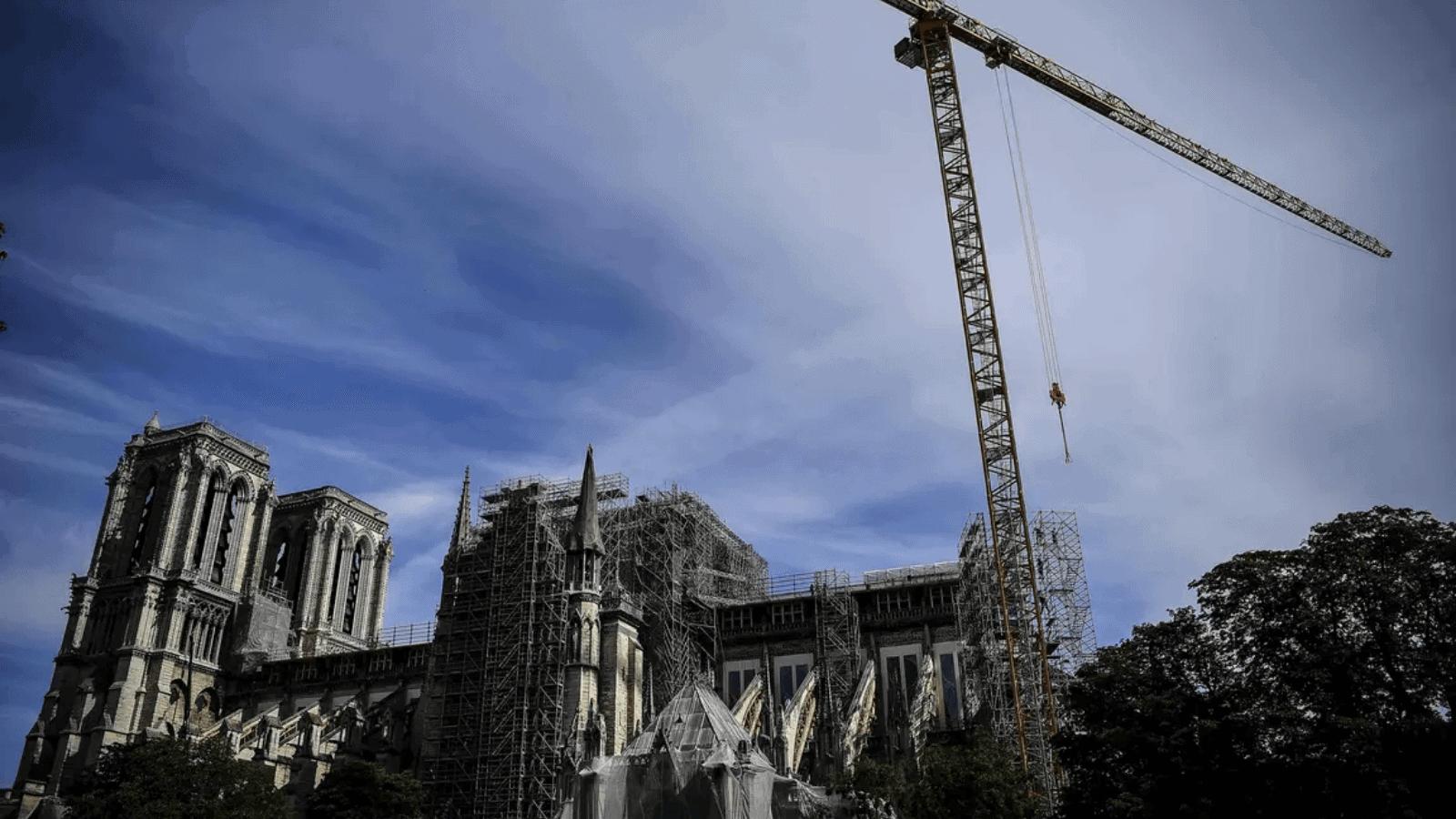 Notre Dame A partir de hoy ponen en marcha una nueva (y peligrosa) etapa de su reconstrucción 1