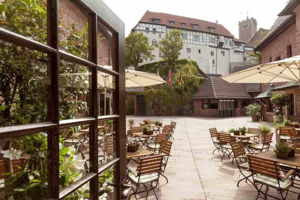 Castillos En Alemania: Hotel Auf Der Wartburg