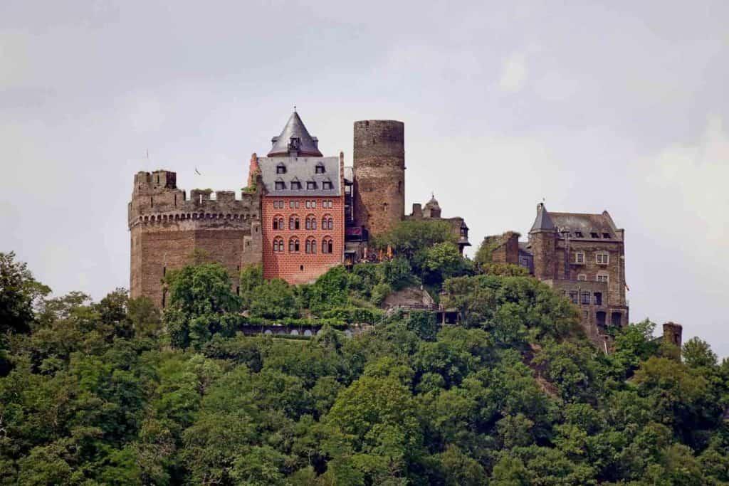 Castillos En Alemania: Castillo Hotel Auf Schönburg