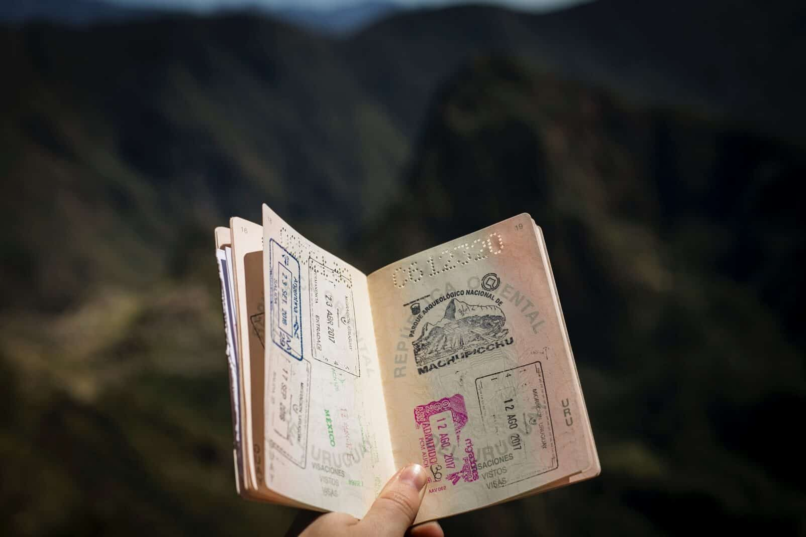 sellos de pasaporte