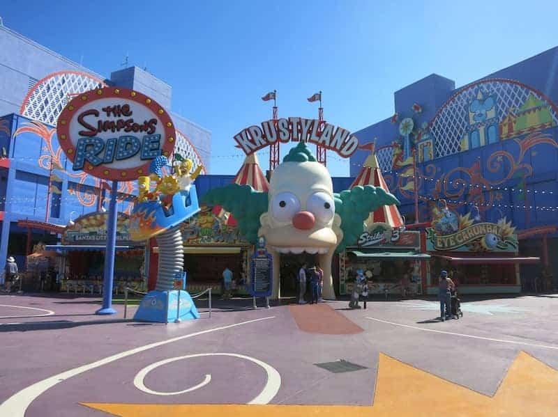 Universal Studios Hollywood Krustyland