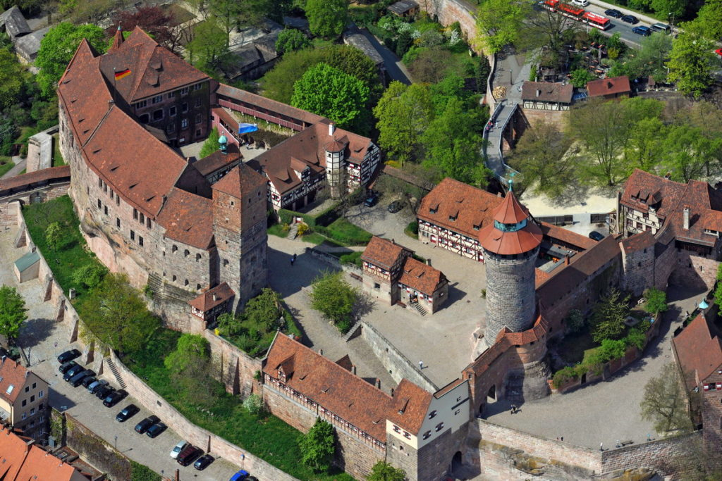 imagen K0429475 Burg Nuernberg Luftaufnahme
