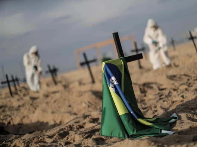 imagen tumbas en copacabana