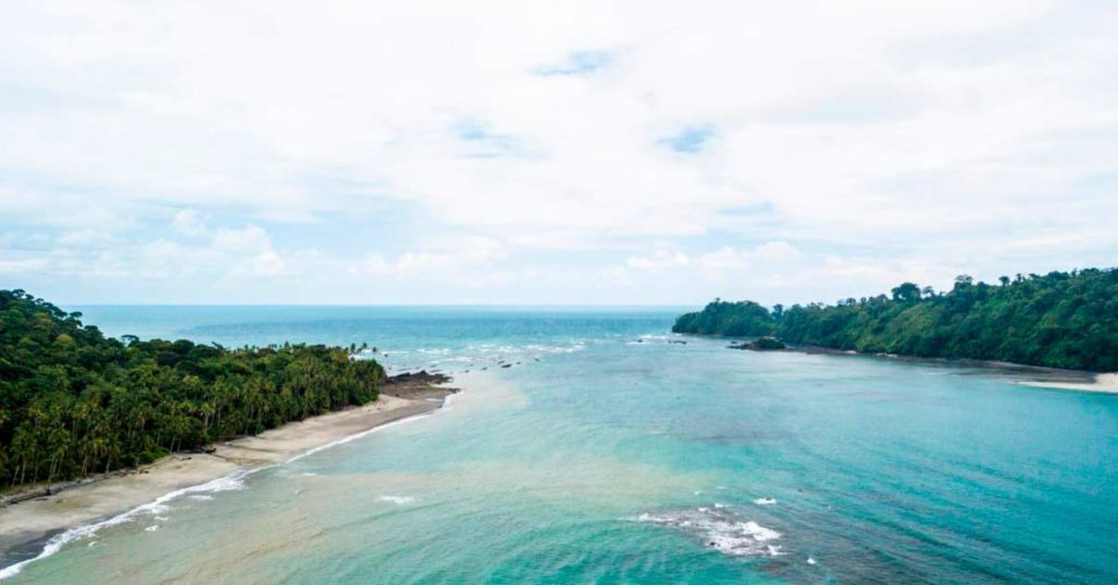 Vista aérea Isla Gorgona