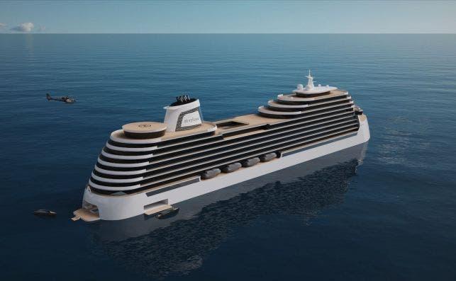 Conoce el primer crucero que usará al mar como piscina