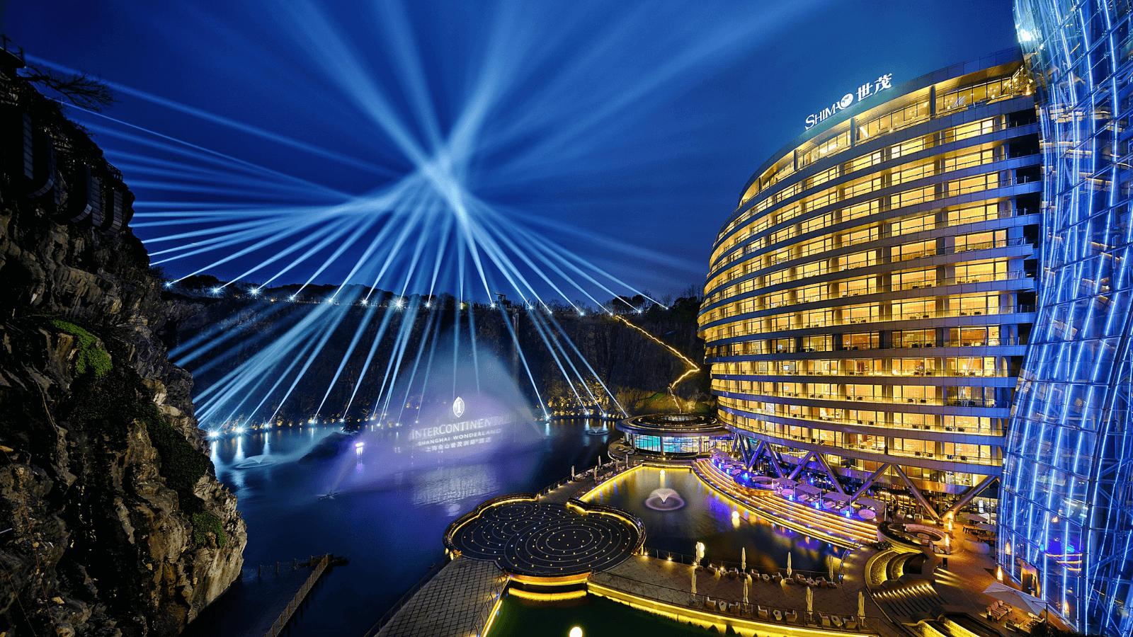 Descubre el primer hotel subterráneo con el cual Shanghái ofrece uno de los hospedajes más insólitos del mundo 1